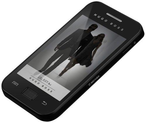 Samsung Galaxy Ace S5830 Hugo Boss Edition Smartphone (8,9 cm (3,5 Zoll) Touchscreen, 5 Megapixel Kamera, Android 2.2) schwarz