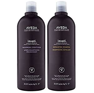 Aveda Invati Exfoliating Shampoo 33.8 oz & Thickening Conditioner 33.8 oz DUO
