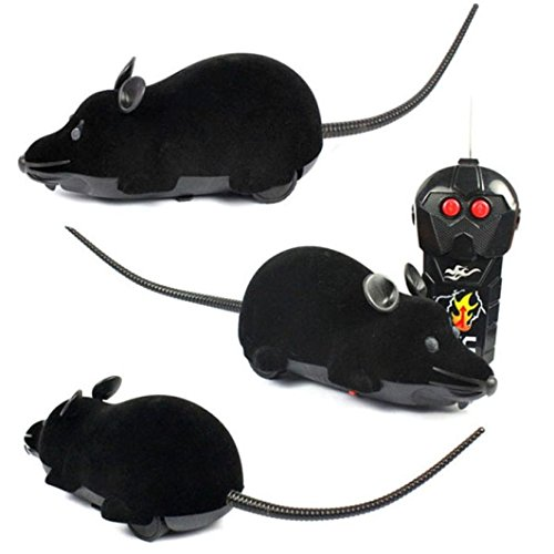 GOTD-Scary-RC-Remote-Controller-Simulation-Plush-Mouse-Mice-Kid-Toy-Gift-Black