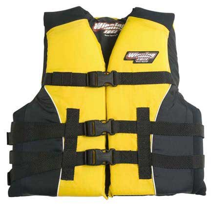 Image of Youth Water Ski Wakeboard Life Jacket Vest Neoprene Nylon (B000RWJ5NY)