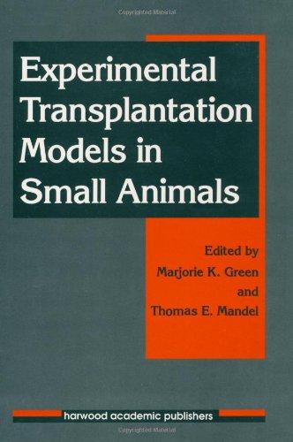 Experimental Transplantation Models In Small Animals