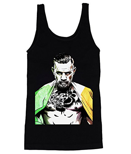 Conor Mcgregor Irish Flag Men's Tank Top Shirt Medium