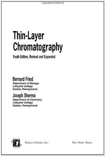 Thin-Layer Chromatography, Revised And Expanded (Chromatographic Science (Hardcover))