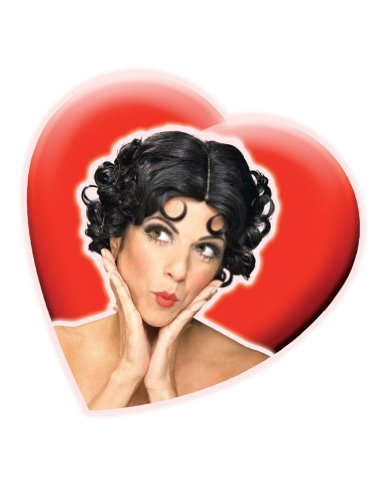 Betty Boop Wig Costume Accessory
