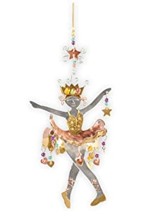 Pilgrim Imports Sugarplum Fairy Metal Fair Trade Ornament