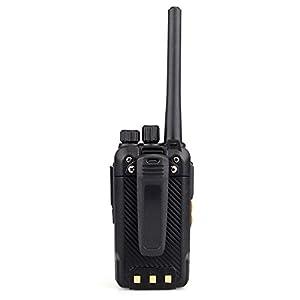 Retevis RT27 Walkie Talkies Rechargeable Long Range FRS Radio 22CH Scrambler VOX 2 Way Radio (Black,5 Pack) (Color: Black)
