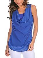 Bleu Marine Top Dina (Azul)