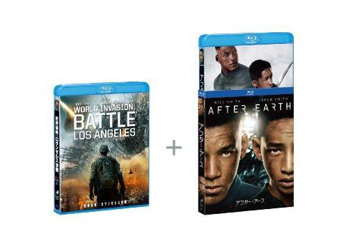 アフター・アース×世界侵略: ロサンゼルス決戦 特別パック(初回生産限定) [Blu-ray]