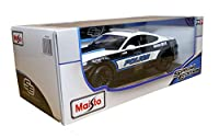 Maisto 1:18 Scale 2015 Ford Mustang 5.0 GT Coupe Police Car Diecast Model *SPECIAL EDITION*