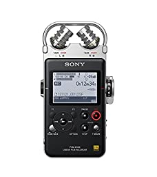 Sony PCMD100 Portable High Resolution Audio/Voice Recorder
