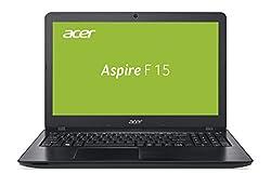 Acer Aspire F 15 (F5-573G-52PJ) 39,6 cm (15,6 Zoll Full HD) Notebook (Intel Core i5-7200U, 8GB RAM, 128GB SSD, 1000GB HDD, NVIDIA GeForce 940MX, DVD, Win 10 Home) schwarz