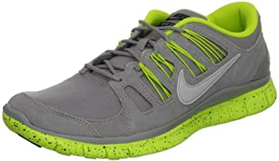 Nike Men's NIKE FREE 5.0 EXT RUNNING SHOES 8 Men US (MEDIUM GREY/STRT GREY/BLK/CYBR)