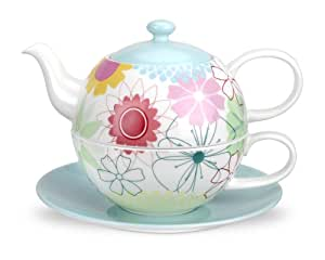 Portmeirion Crazy Daisy Tea for One