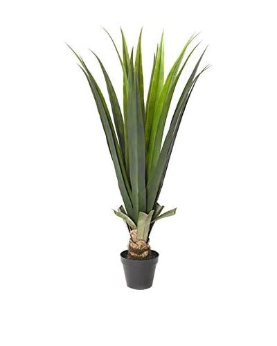 Winward Potted Faux Aloe Plant, Grey/Green