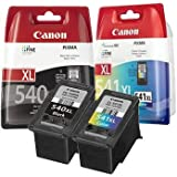 Canon Pixma MG4250 - Canon PG-540XL & CL-541XL Original High Capacity Canon Black and Colour Ink Cartridge Pack