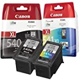 Canon Pixma MG3250 - Canon PG-540XL & CL-541XL Original High Capacity Canon Black and Colour Ink Cartridge Pack