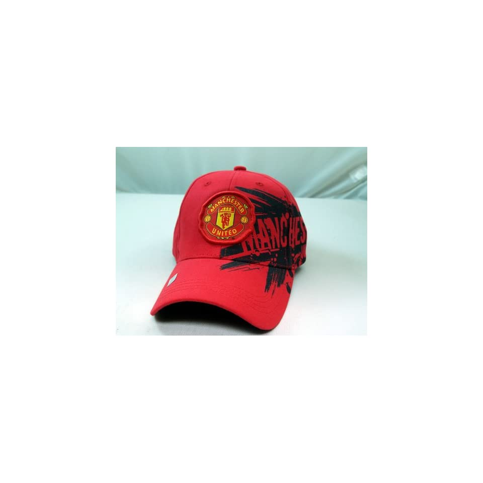 FC MANCHESTER UNITED OFFICIAL TEAM LOGO CAP / HAT   MU013