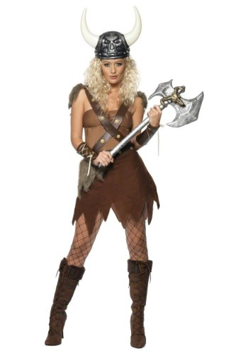 Viking Warrior Woman Adult Costume