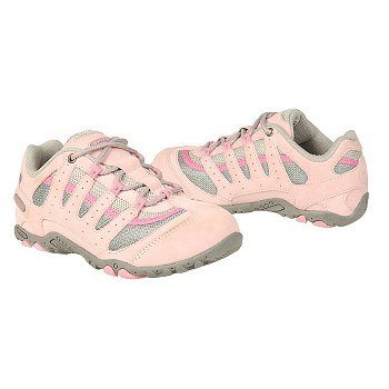 Hi-Tec Little Kid/Big Kid Prague Jr. Hiking,Grey/Dolly Pink/Begonia,10 M US Toddler