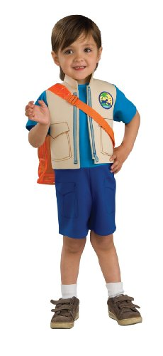 Nick Jr. Dora The Explorer Child's Diego Costume with Backpack, Toddler (Dora The Explorer Costumes)