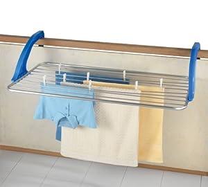 Wenko 3773020100 tendedero para balc n pl stico y - Tendederos de balcon ...
