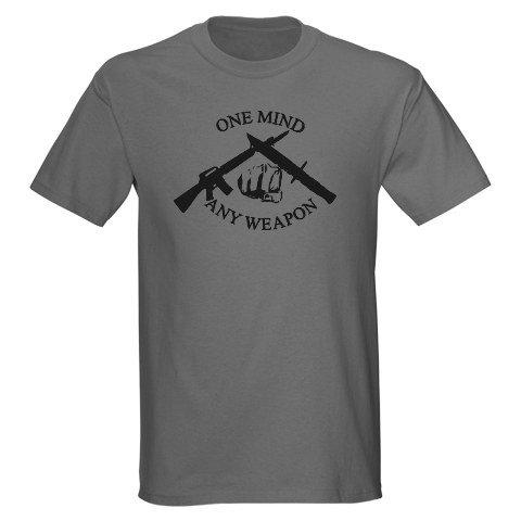 Marine Martial Arts Military Dark T-Shirt by CafePress