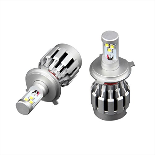 Generic Pack Of 2 All In One 32W Dual Beam Light H4 Hi-Lo Beam 6500K Cree Led Headlight Bulb Fog