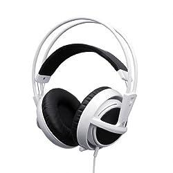 SteelSeries 51100 Siberia V2 Full-Size Gaming Headset (White)