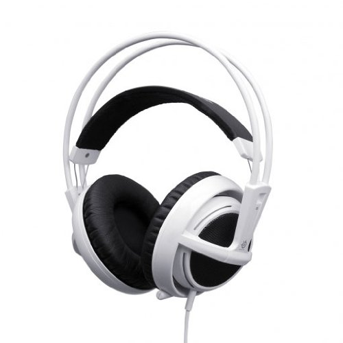 Steelseries Siberia V2 Full-Size Gaming Headset (White)