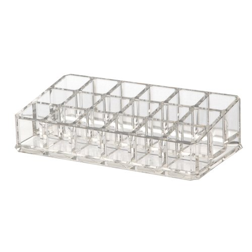 Us Acrylic® Lipstick Organizer With 18 Spaces
