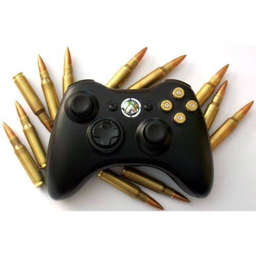 New Xbox 360 Black 100+ Modes Arbiter 3.5 + Elite Modes Rapid Fire Controller for BO2, MW3 all COD games and more