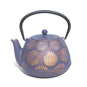 Cast Iron Teapot - Purple Hanabi (Diffuser Teapot compare prices)