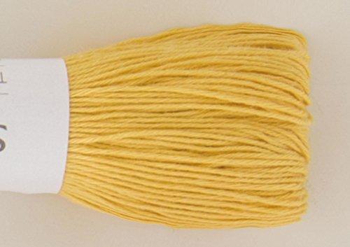 刺し子用糸 ステッチヤーン 黄