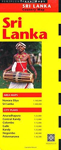 Periplus Travelmaps Sri Lanka: Country Map (Periplus Travel Maps) (Other Regional Maps)