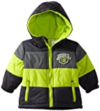 Little Rebels Baby-boys Infant 1 Piece All Star Jacket, Green, 18 Months