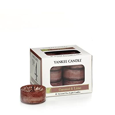 Yankee Candle No 4 Coconut Lime Tealights Box Of 12 by Yankee Candle