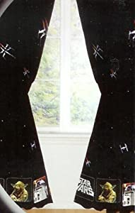 Star Wars Curtains Window Treatment