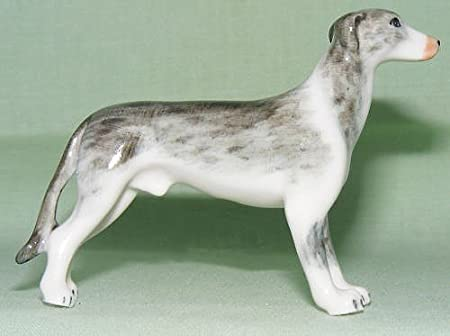 Amazon - Lucher Grey/White Greyhound Figurine