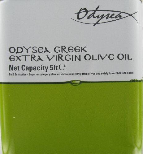 Odysea Greek Extra Virgin Olive Oil Tin 5 Litre