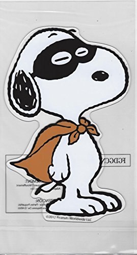 Peanuts Snoopy Halloween Window Gel Cling