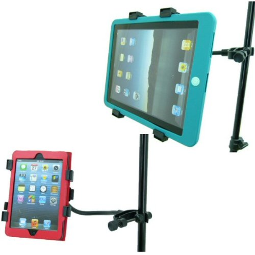 Music Microphone Stand Mount For Apple Ipad Mini / Ipad / Ipad 2 / Ipad 3 / Ipad 4Th Gen