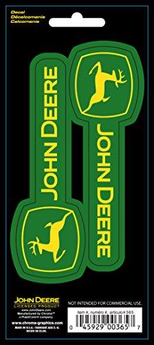 Chroma 000365 Stick-Onz 'John Deere' Decal