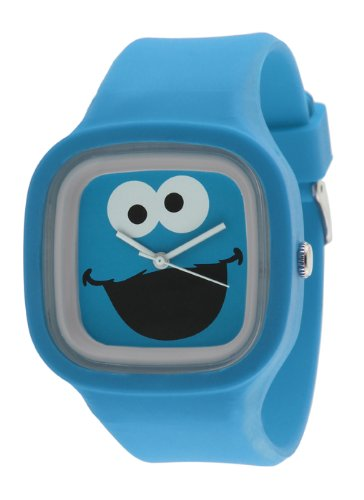 Sesame Street SW628CM Cookie Monster Jelly Watch