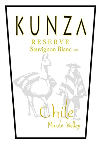 2012 Kunza Reserve Maule Valley Sauvignon Blanc 750 Ml