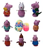Peppa Pig Milk Chocolate Egg with Toy Surprise in Box, 0.7 oz (Pack of 6)