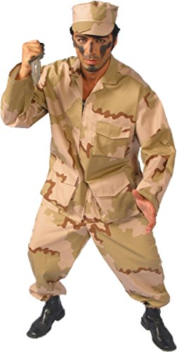 Alexanders Costumes Men's Army Man