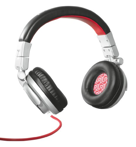 Urban Revolt Rimix Headphone - Headphones With Mic - Full Size - Grey, Red(19