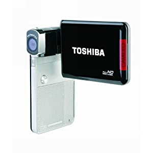 Toshiba Camileo S30 Full HD Camcorder (Silver/Black)