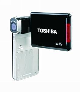 Toshiba Camileo S30 Full HD Camcorder (Silver/Black)