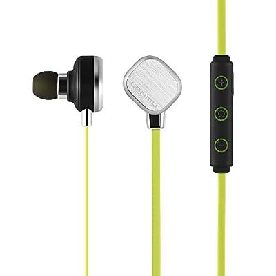 LANMU Wireless Stereo Bluetooth 4.1 Sports Headset Earphone In-Ear Earbuds.